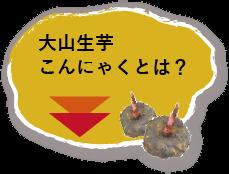 大山生芋こんにゃくとは?