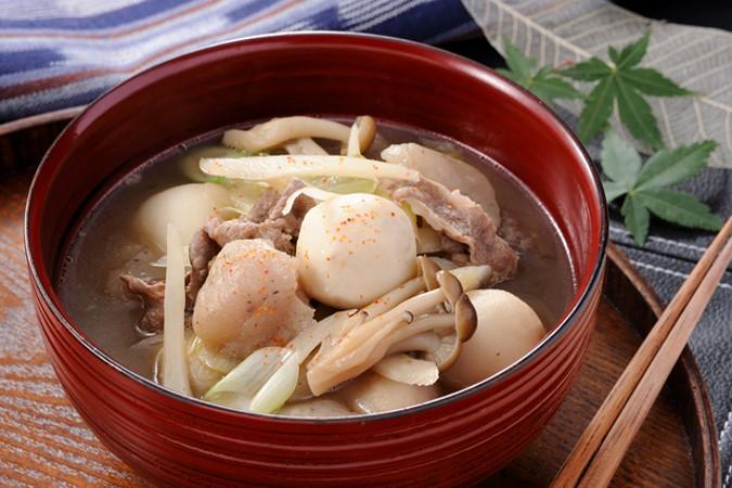 芋煮風 里芋と玉こんにゃくの煮物