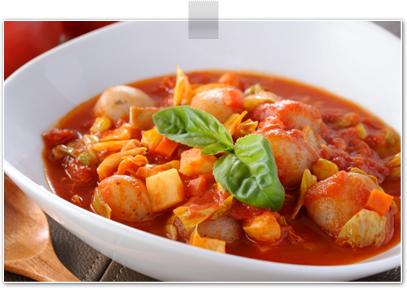 玉こんにゃく・de・トマトスープ